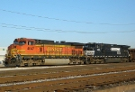BNSF 4847 and NS 9063