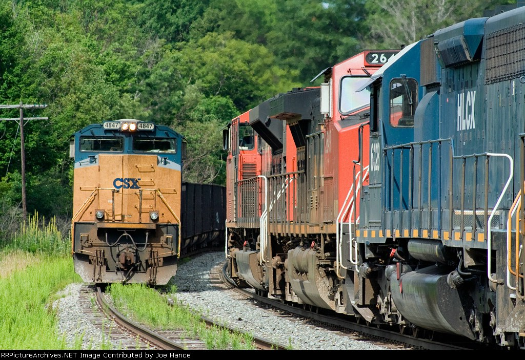 CSX S62029 meets B75628