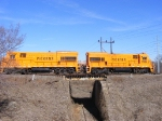 PICK 9500 & 9504 cross over the old line
