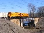 PICK 9500 & 9504 cross over the Rocky Creek Bridge