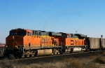 Empty BNSF Coal Train