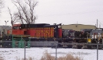 Wrecked BNSF 5101