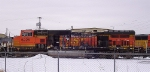 Burnt BNSF 5226