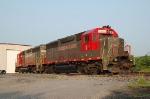 Buckingham Branch Railroad (BB) EMD GP40's No. 5 and No. 6