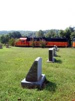 BNSF 3188 next to Graveyard