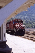 CP 6023 sitting at the depot