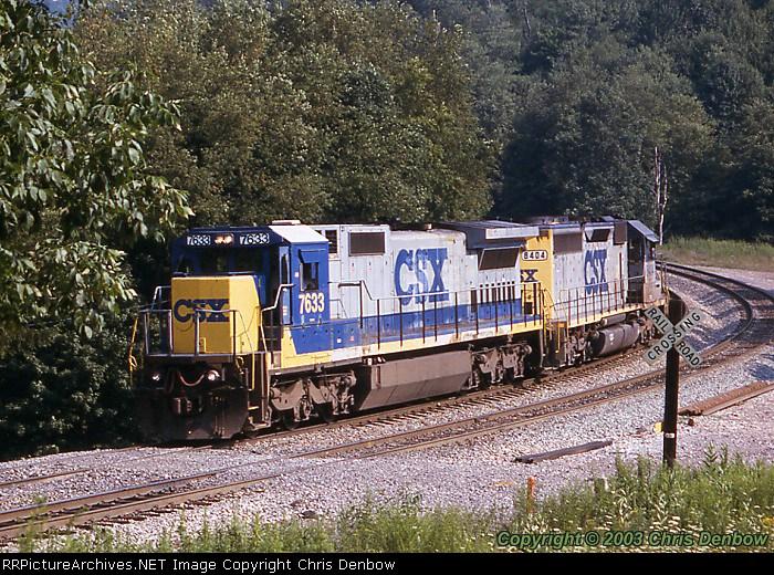 CSX 7633