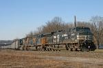 NS 9252 on CSX V383-17