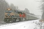 BNSF 9517 on CSX E943-xx
