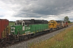 BNSF 2764 on CSX K654-09