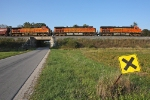 BNSF 7560 on CSX G396-24