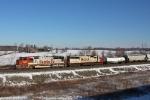 BNSF 8229 on CSX Q381-22