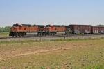 BNSF 4457 on  CSX Q381-27