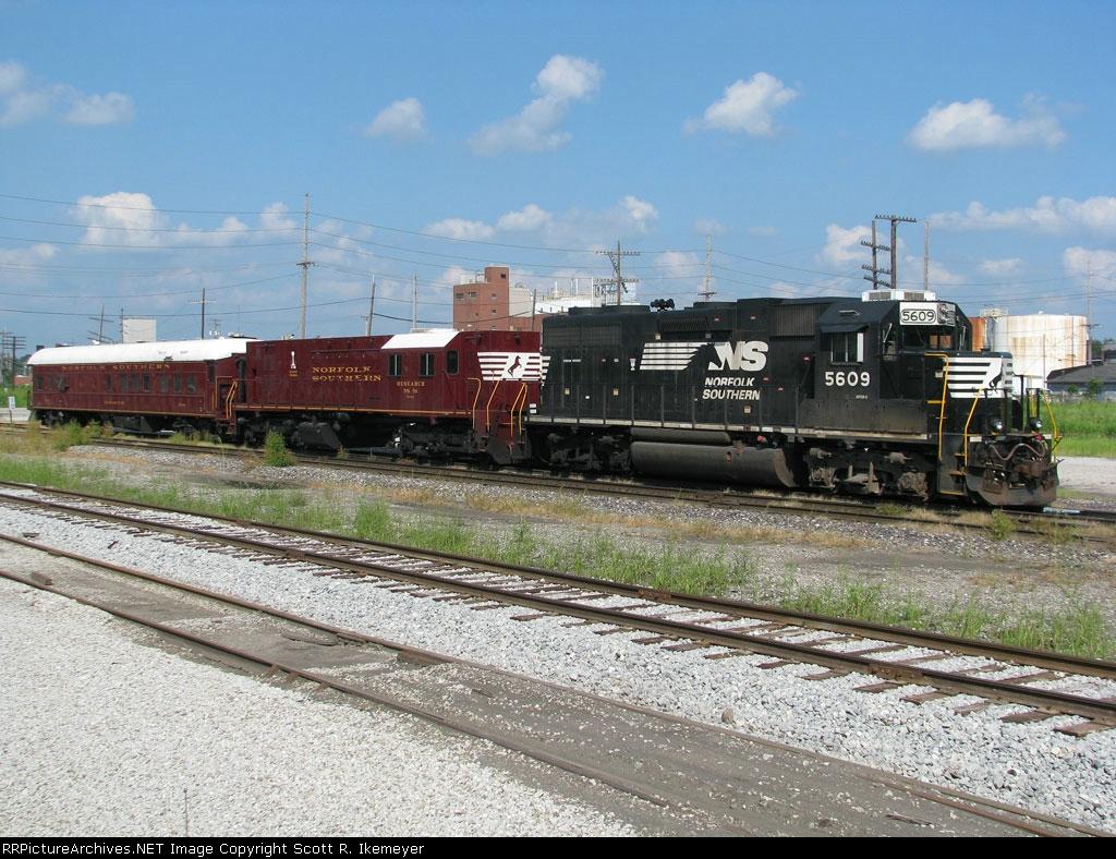 Norfolk Southern track geometry train