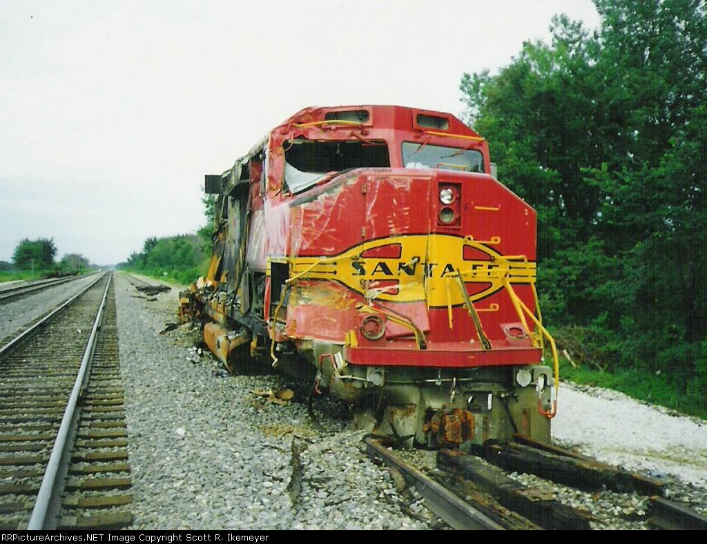 Wreck-damaged GP60M