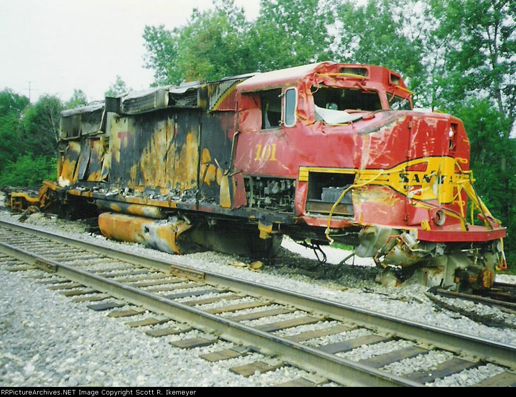 Wreck-damaged GP60M