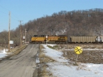 Southbound Coal Train DPU