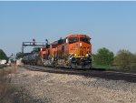 Westbound corn syrup train