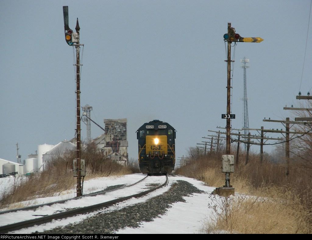 CSX Train J726 08