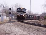 Coal train on ex NKP trackage