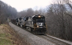 NS Q50 with cool power for a coal train