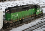BNSF 7821