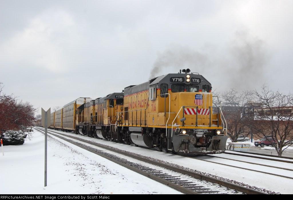 UPY 716, 738 & 718