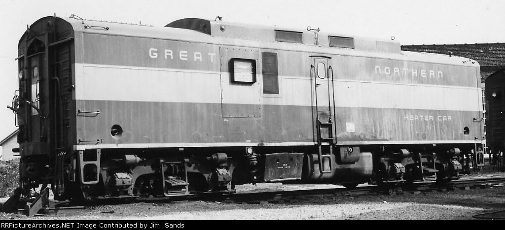 GN 11 Heater Car in 1969