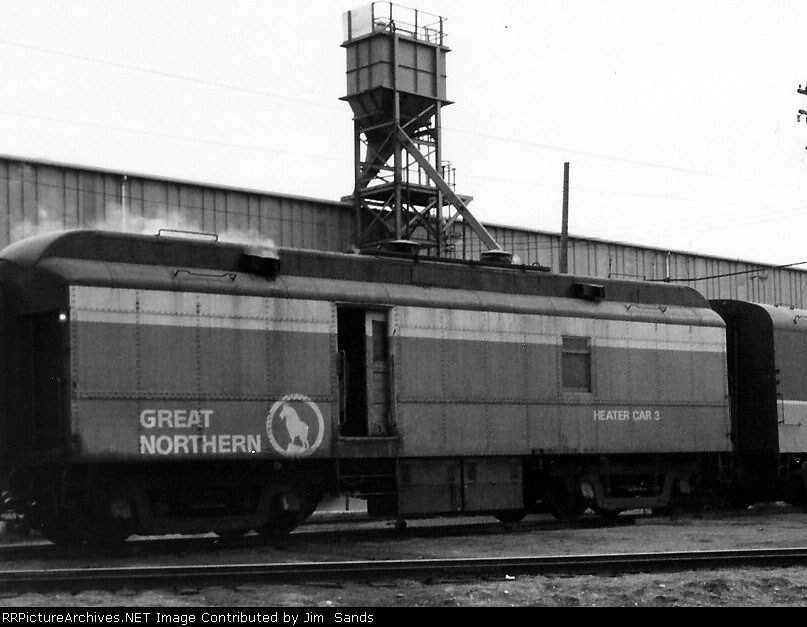 GN 3 Heater Car in 1970