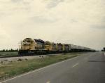 Santa Fe train 581