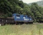 Conrail train KAOI-D