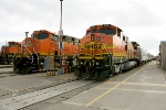 BNSF 1089, 7768, and 534