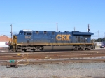 CSX 5440 sits in the Yard