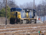 CSX 216 sits in the Yard