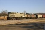 Pushers on a grain train