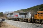 Northbound coal train passes