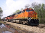 BNSF 6017, 9341, and 9796