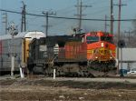 BNSF 4653 at Mosler hold out