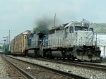 GCFX 3077 heads south with a smoker