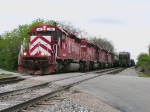 Q360 shows up with some Indiana RR power
