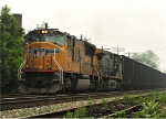 Northbound coal drag