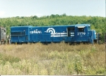 Retired for good, this U23B rests  in Rose Yard, amidst the weeds
