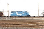 Temporarily reacitvated, this Ex E-L GP 35 sits at the East End of Oak Island