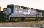 B40-8 5061 sits in the Oak island Transfer Yard