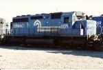 SD40 6279( ex PC 6279) sits among other units at Oak island Yard