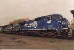 Renumbered from # 755, C40-8w 6281 rolls south through CP-5