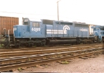 In the Oak Island departure yard is this SD40, built as CNJ(B&O) 3065