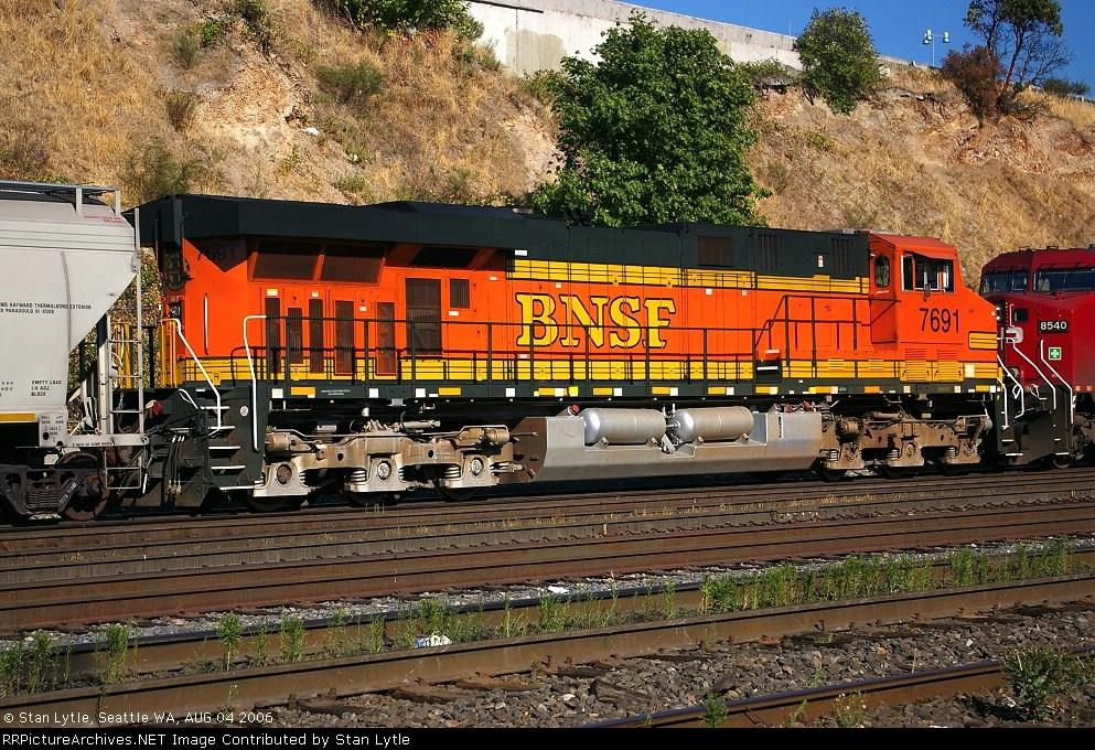 BNSF 7691