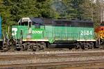 BNSF 2884