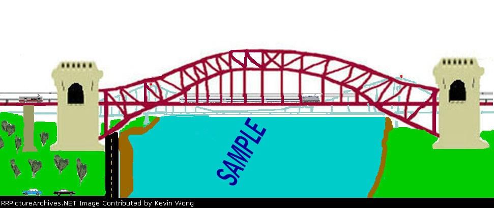 Sample scene #1: Hell Gate Bridge